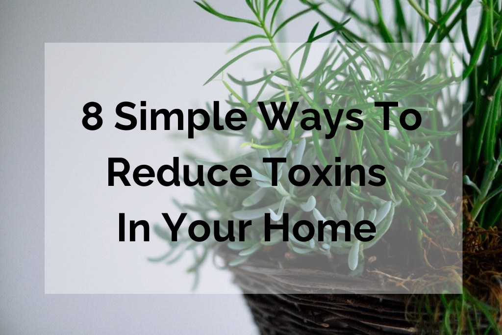 8 Simple Ways to Reduce Toxins in Your Home | www.xperimentsinliving.com